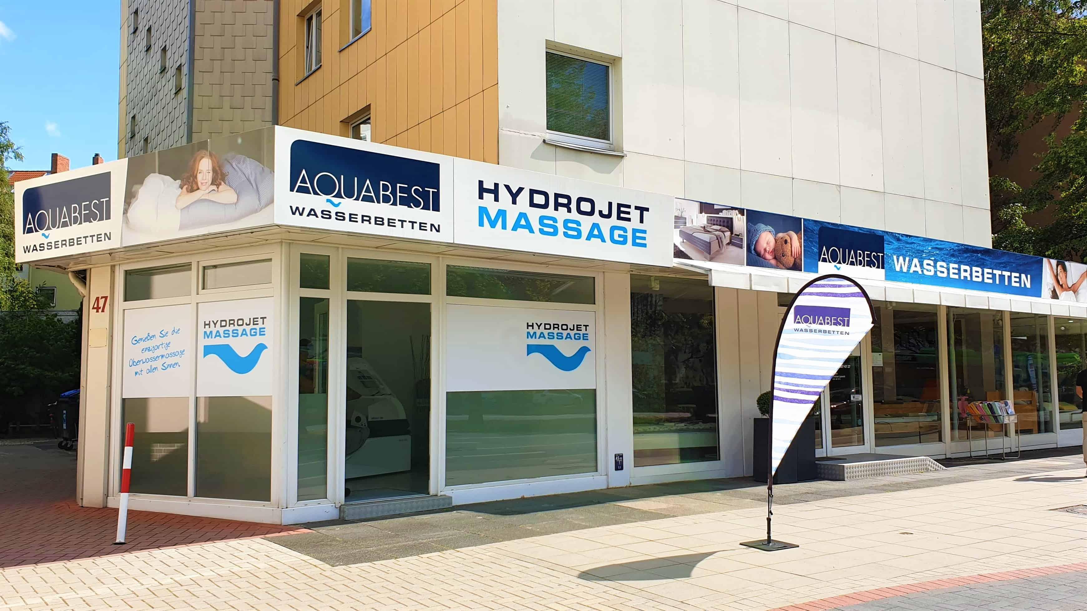 Aquabest Wasserbetten Hydrojet B - Hydrojet-Massage