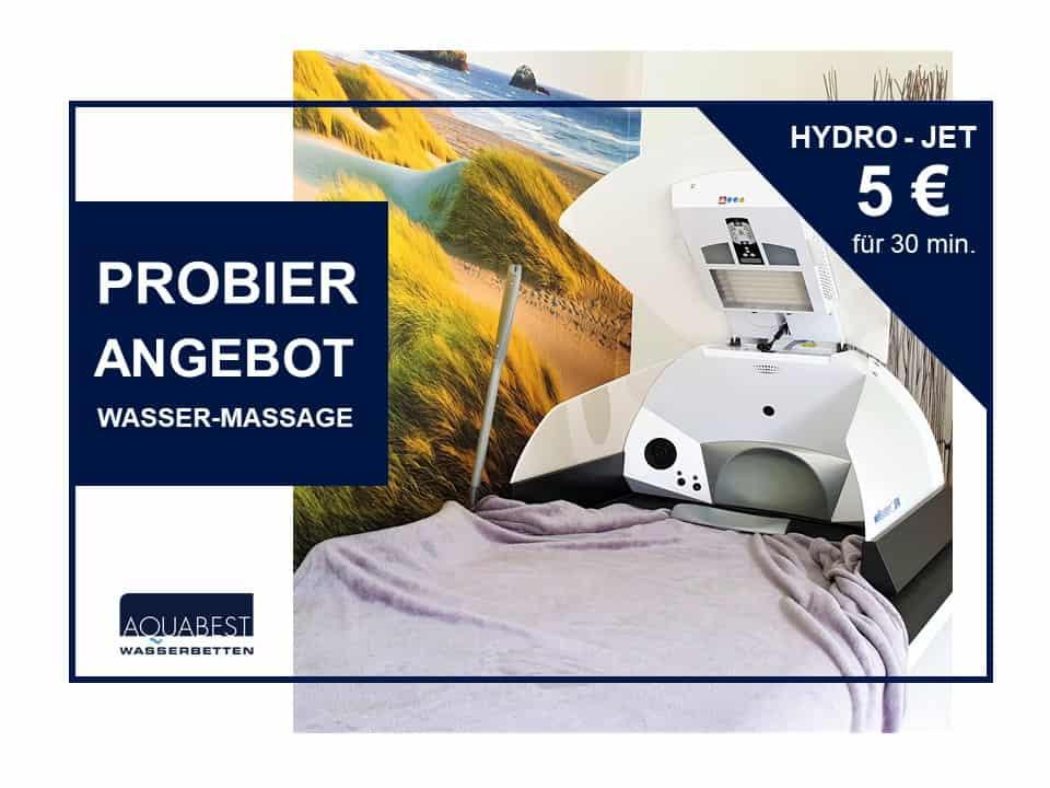 aquabest wasserbetten probierangebot hydro jet B - Probier Angebot - Wasser-Massage | Hydro-Jet