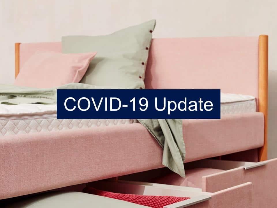 aquabest wasserbetten covid update B - Wir sind weiterhin für Sie da!