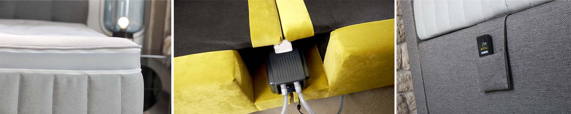 aquabest wasserbetten siebenschlaf air matratze - NEU: siebenschlaf® AIR Matratze